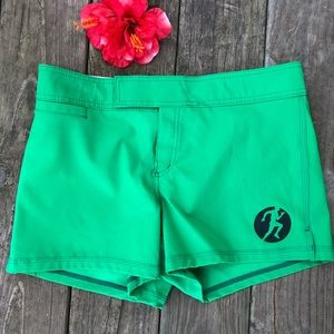 Compete Every Day Green Athletic Shorts 10